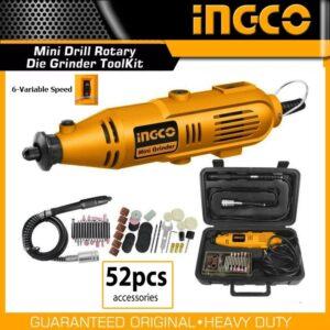 Ingco 130w Mini Die Grinder Kit