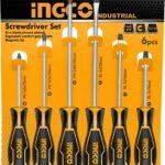 INGCO 6 pcs Screwdriver Set HKSD0628