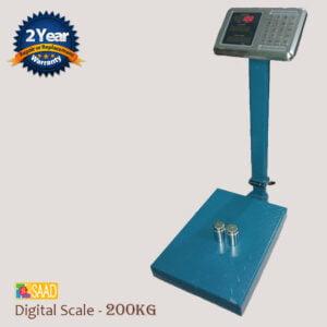 SAAD Digital Weighing Scale - 200KG