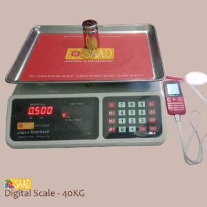 SAAD Digital Weighing Scale - 40KG