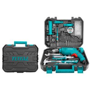 TOTAL 115 PCS Tools Set THKTHP1152