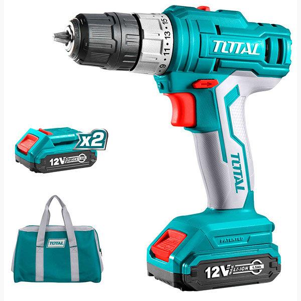 TOTAL 12v Cordless Drill TDLI1222