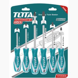 TOTAL 6pcs Screwdriver Set THT250606