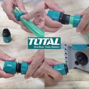 TOTAL 3pcs Quick Hose Connectors Set