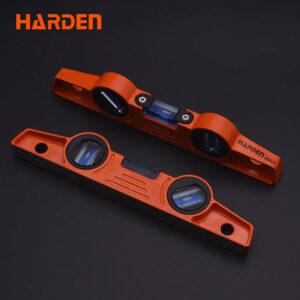 "Harden 10"" Spirit Level with Magnet and Aluminium body 580522"