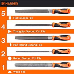 """Harden 5pcs 8"""" File Set 610631"""