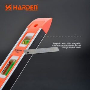 "Harden 9"" Spirit Level with Magnet 580521"