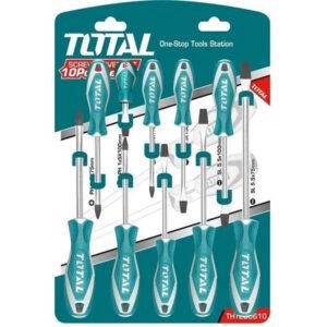 TOTAL 10pcs screwdriver set THT250610