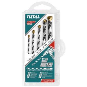 TOTAL 5pcs Masonry Drill Bits Set TACSD5055 at best price in Bangladesh