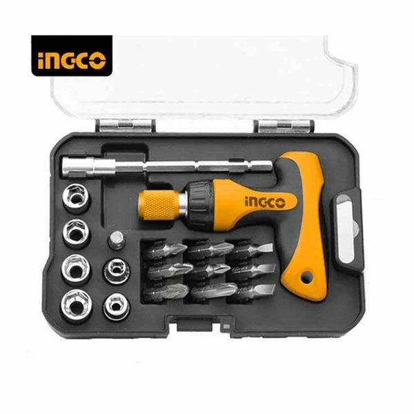 INGCO 24pcs T-handle Wrench Screwdriver set