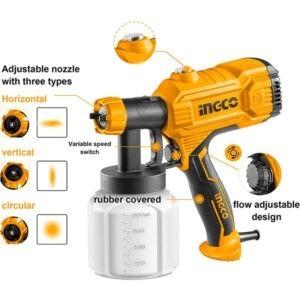 INGCO 450w Power Spray Gun SPG3508