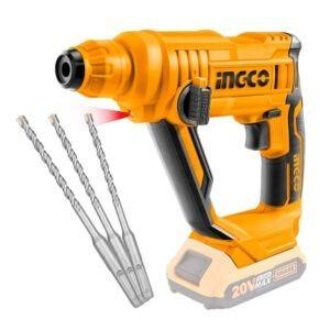 INGCO 20v Cordless Rotary Hammer Drill